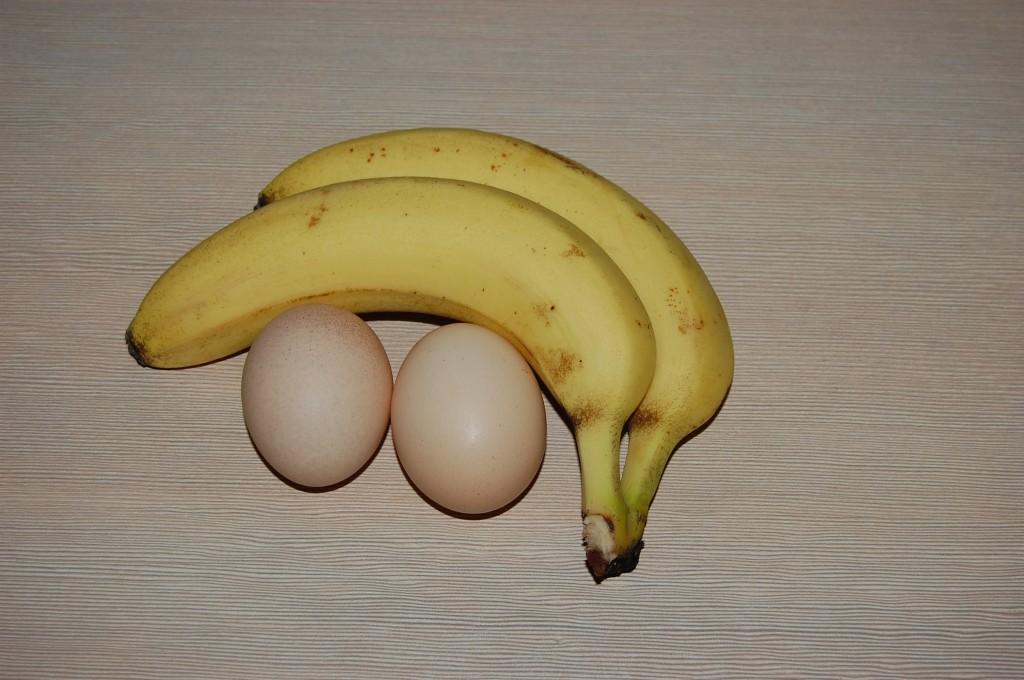 bezglutenowe placki bananowe